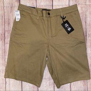 RSQ Long Chino Shorts NWT NEW 31 Tillys